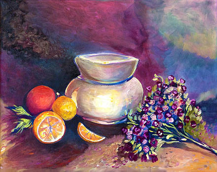 Patricia Lazaro - Pottery and Violets