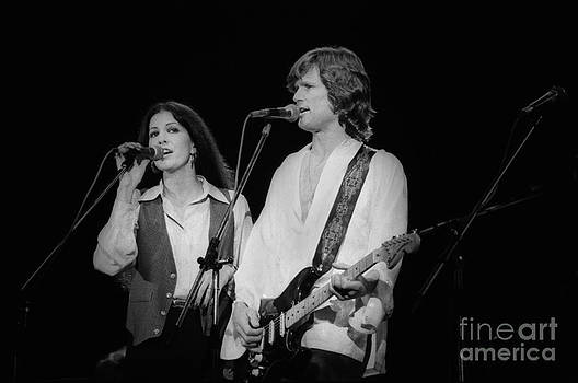 Kris Kristofferson and Rita Coolridge by Homer Sykes