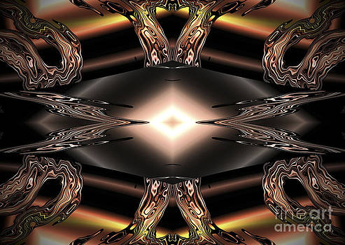 Diamond Digital Glass Art. by Heinz G Mielke