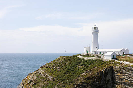 Lighthouse Landscape by Gillian Dernie