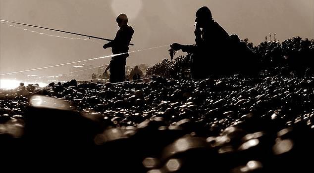 Little Fisher by Kazim Yurekli