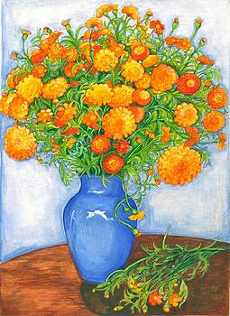 Marigolds by Barbara Esposito