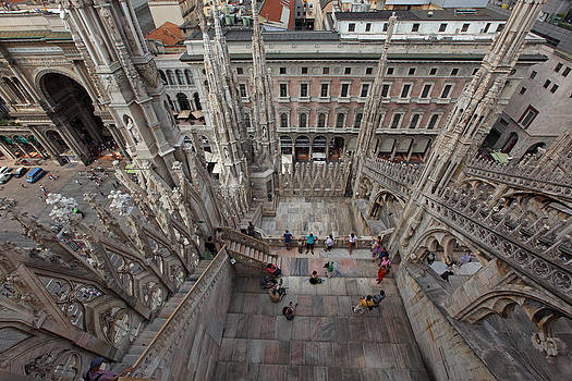 Susan Rovira -  Milan From the Roof