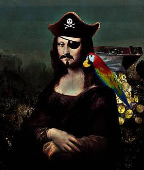Gravityx9 Designs -  Mona Lisa Pirate Captain