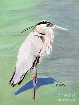 Mortons Heron by Sharon Burger