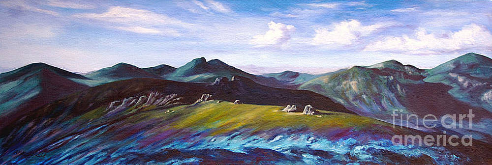 Mourne Mountains 1 by Anne Marie ODriscoll