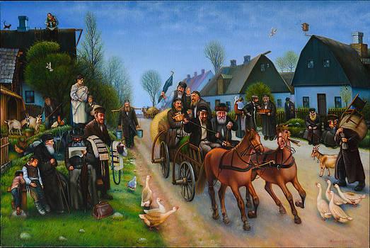 My Shtettele Belz. by Eduard Gurevich