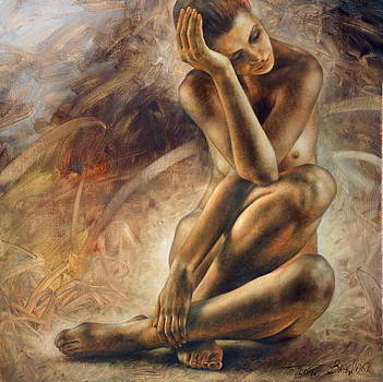 Nude woman2 by Arthur Braginsky