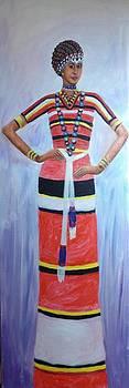 Oromo Lady by Samuel Daffa