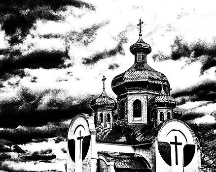Orthodox Church BW by Brian Orlovich