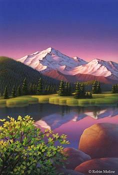 Robin Moline -  Pastel Mountain