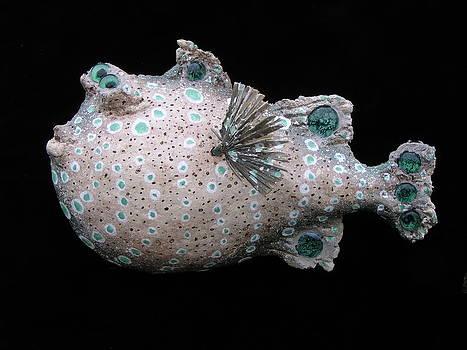 Paula the Puffer fish by Dan Townsend