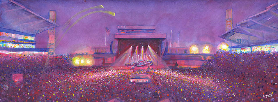 Phish at Dicks by David Sockrider