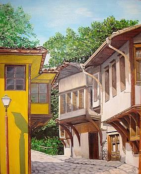 Plovdiv  the old town by Nina Mitkova