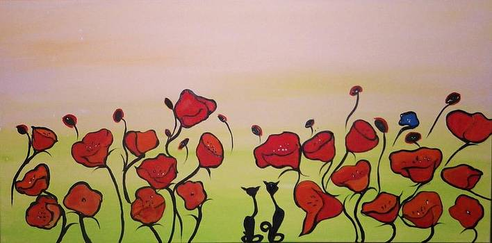 Poppy Cats by Anne Marie Spears