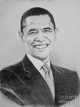 President obama by Jeffrey Samuels