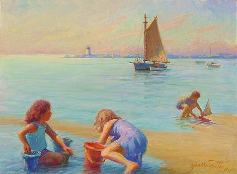Provincetown Harbor Morning by Ernest Principato