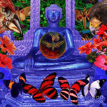 Reaching Nirvana Gautama Buddha by Joseph Mosley