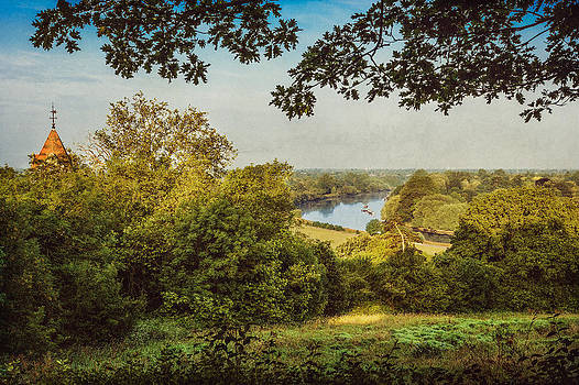 River Thames from Richmond Terrace by Stuart Gennery