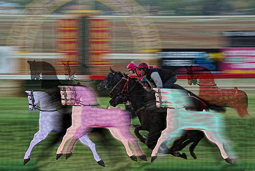 Rocking Horse Racing by Helen Akerstrom Photography
