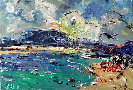 Seaside impression-No.4 by Zhang Jiyu