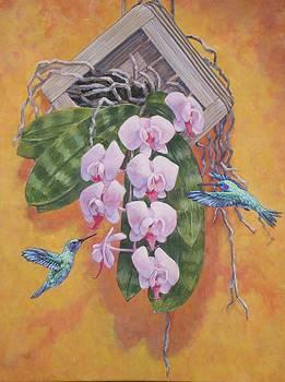 Seeking Nectar by Bonnie Golden