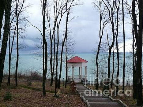 SOUTH gazebo -   Black Sea  by Alisa Tek