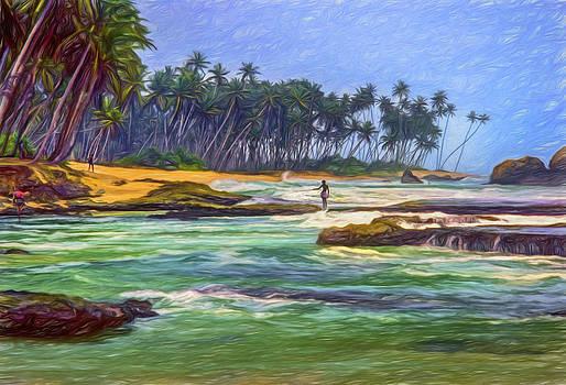 Steve Harrington -  Sri Lanka - Paint