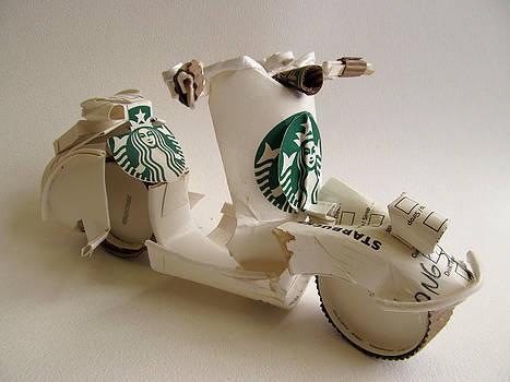 Alfred Ng -  Starbucks vespa