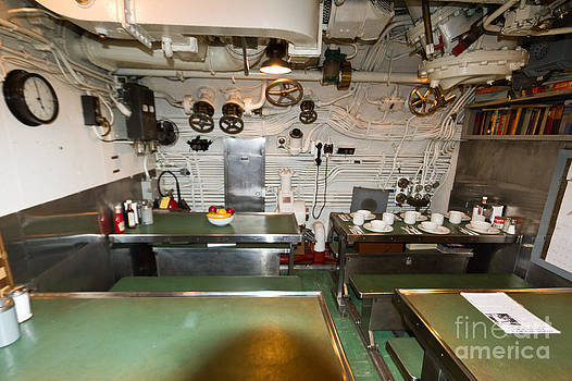 Submarine Crews Mess by Terry Cotton