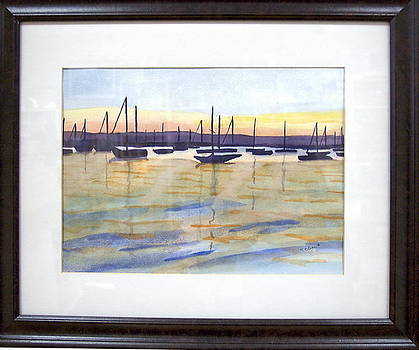 Sunset Sails by Kari Kline
