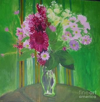 Sylvana's Birthday Bouquet by Trudy Brodkin Storace
