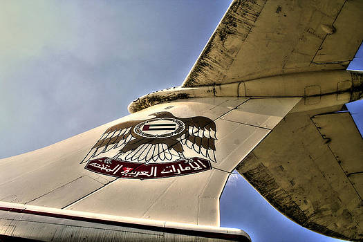 Alexander Drum -  tail empennage - Arab Emirates