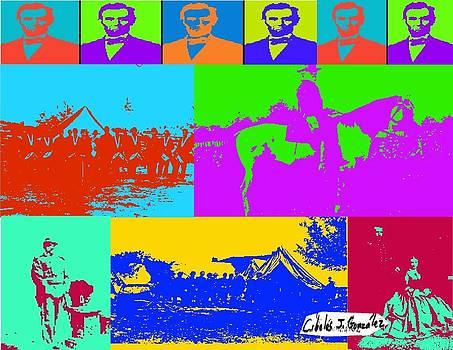 The American Civil War Through Pop Art by Cibeles Gonzalez