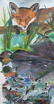 The Pond by Susan Voidets