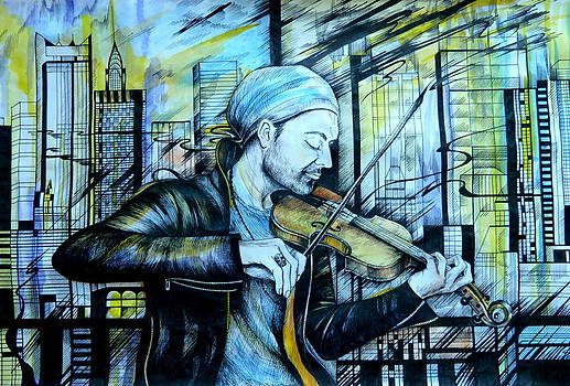 Anna  Duyunova -  The Rock Symphony. David Garrett