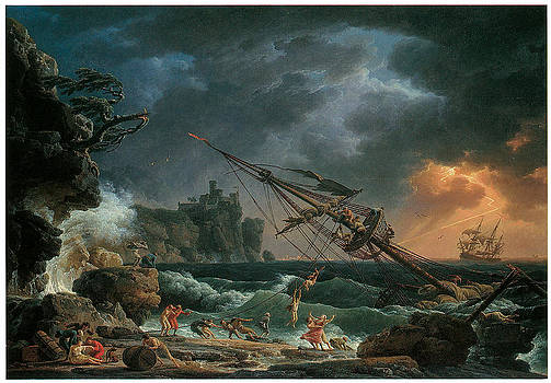 Claude-Joseph Vernet -  The Shipwreck