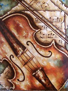 The violin by Ghada Ali yousri