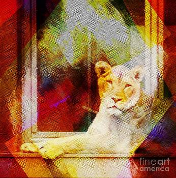 Lion by Kathleen Struckle