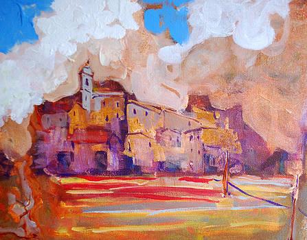 Tuscan Village by Kurt Hausmann