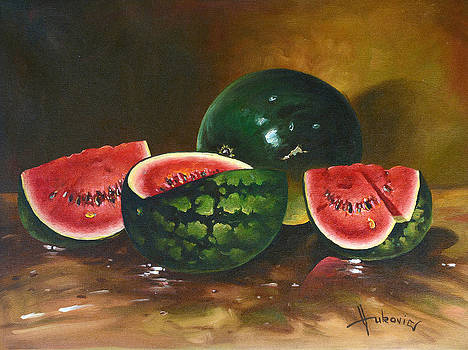 Watermelons by Dusan Vukovic