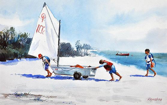Yachtsmen by Irina Alexandrina