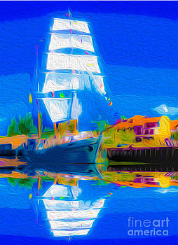 Algirdas Lukas - 02 White Sails