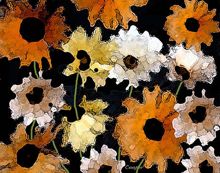 040 Daisies by Peggy Cooper