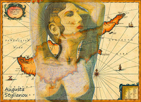 Augusta Stylianou -  Aphrodite and Ancient Cyprus Map