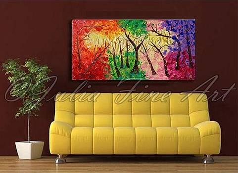 Interior Design by Julia Fine Art