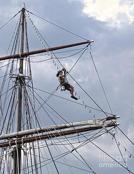 Gregory Dyer -  Philadelphia Clipper Ship at Penn