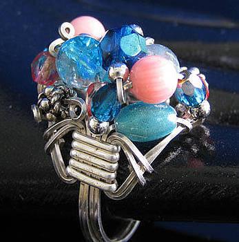 Dianne Brooks - 1168 Bling Bling Cluster Ring