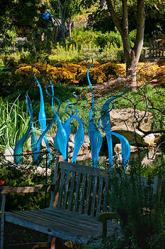 12877 Blue Dancers by John Prichard