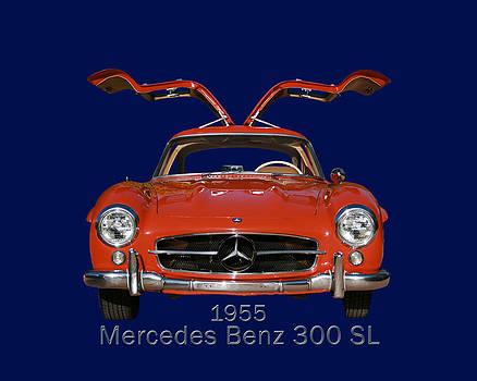 Jack Pumphrey - 1955 Mercedes Benz 300 S L